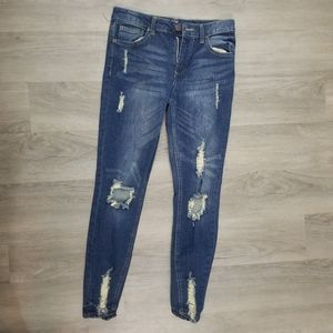 Almost Famous Distressed Jeans